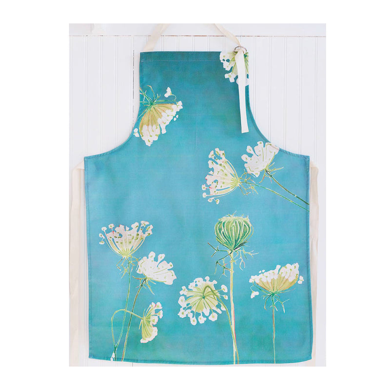 QUEEN ANNE'S LACE COTTON APRON