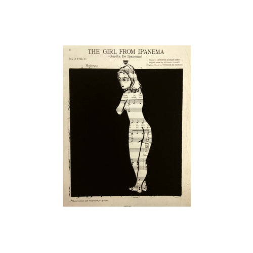 RENE FARKASS ARTWORK: THE GIRL FROM IPANEMA