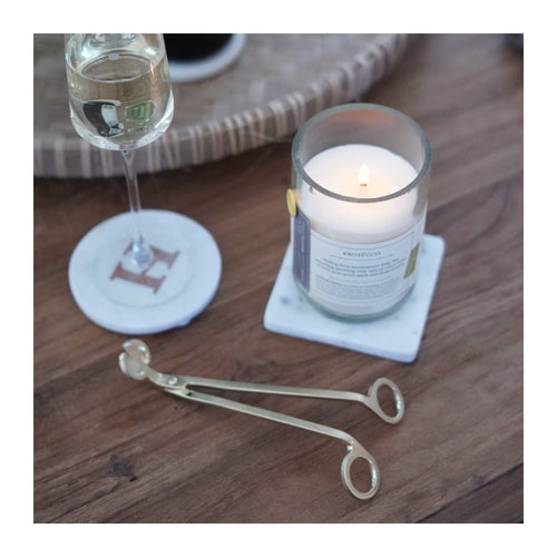 BRUSHED GOLD CANDLE WICK TRIMMER