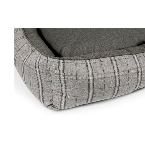 HUGGER PET BED - GREY HOUND