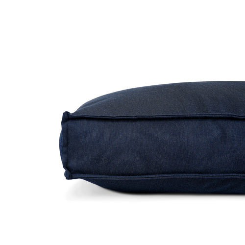 LOUNGER PET BED - BLUE BARKER