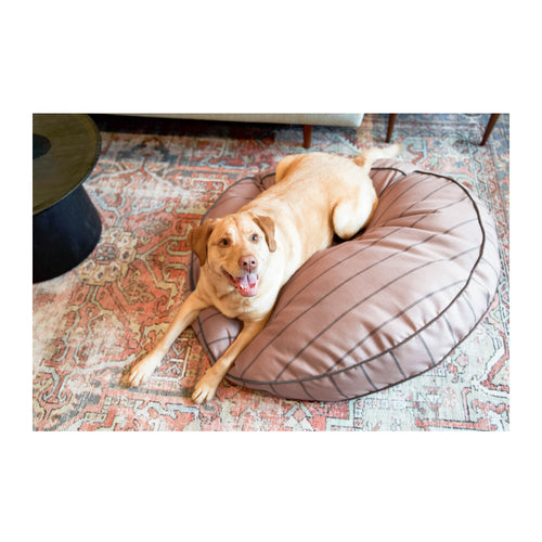 ROUND PET BED - BLUSHING BASSET