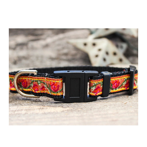 TRIBAL ROSE BREAKAWAY CAT COLLAR