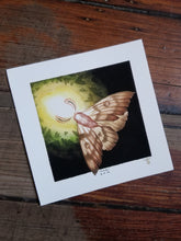 Load image into Gallery viewer, Moth Mini Print Set (set of 3)