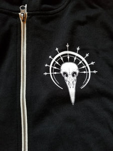 """Season of the Witch"" Logo Zip-up Hoodie"