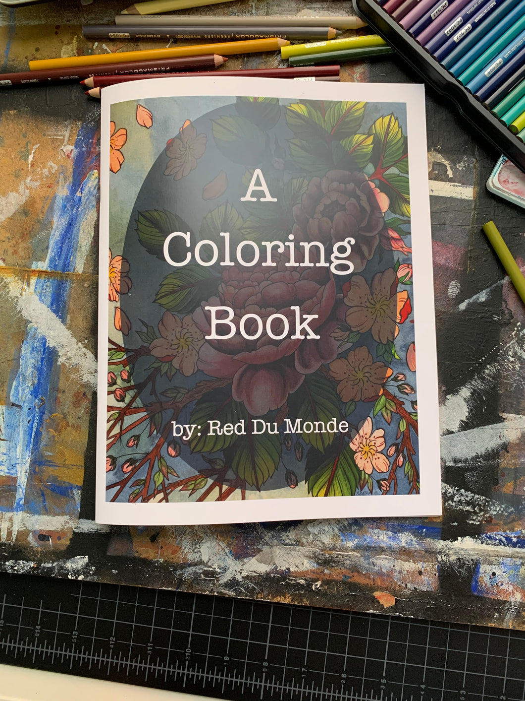 A Coloring Book by Red Du Monde