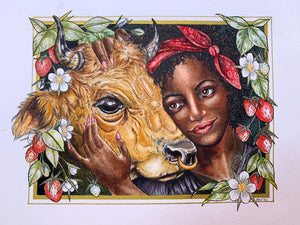 """Taurus"" by Red Du Monde (CHARITY FUNDRAISER)"
