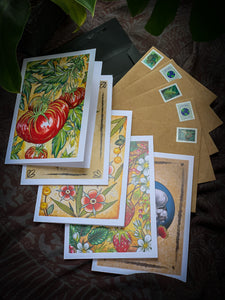 Botanical Greeting Card Set by Red Du Monde