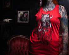 "Load image into Gallery viewer, ""Baba Yaga"" Unisex Tank Top by Ellie Gill"