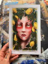 "Load image into Gallery viewer, ""Lady Lemon"" by Red Du Monde"