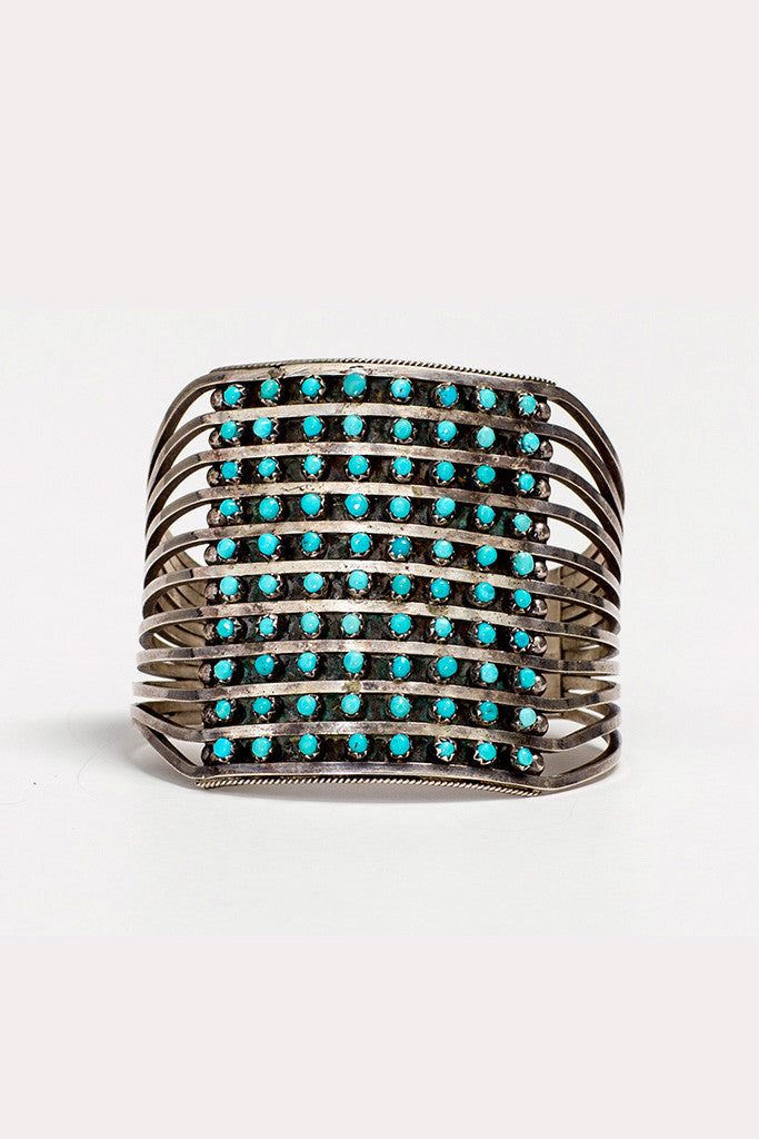 Zuni Stacked Cuff - Bow&Arrow