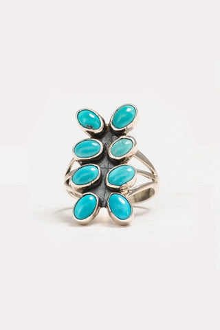Eight Stoned Ring