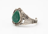 Green Turquoise Fan Cuff - Bow&Arrow
