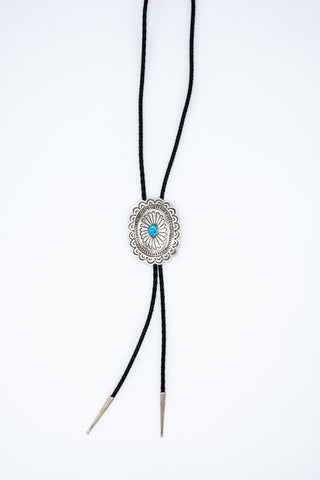 Stamped Sterling Bolo Tie