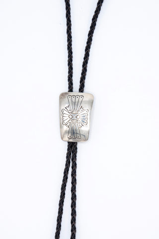 Stamped Bolo Tie