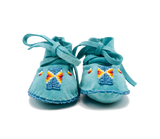 Hand Beaded Baby Moccasins - Bow&Arrow