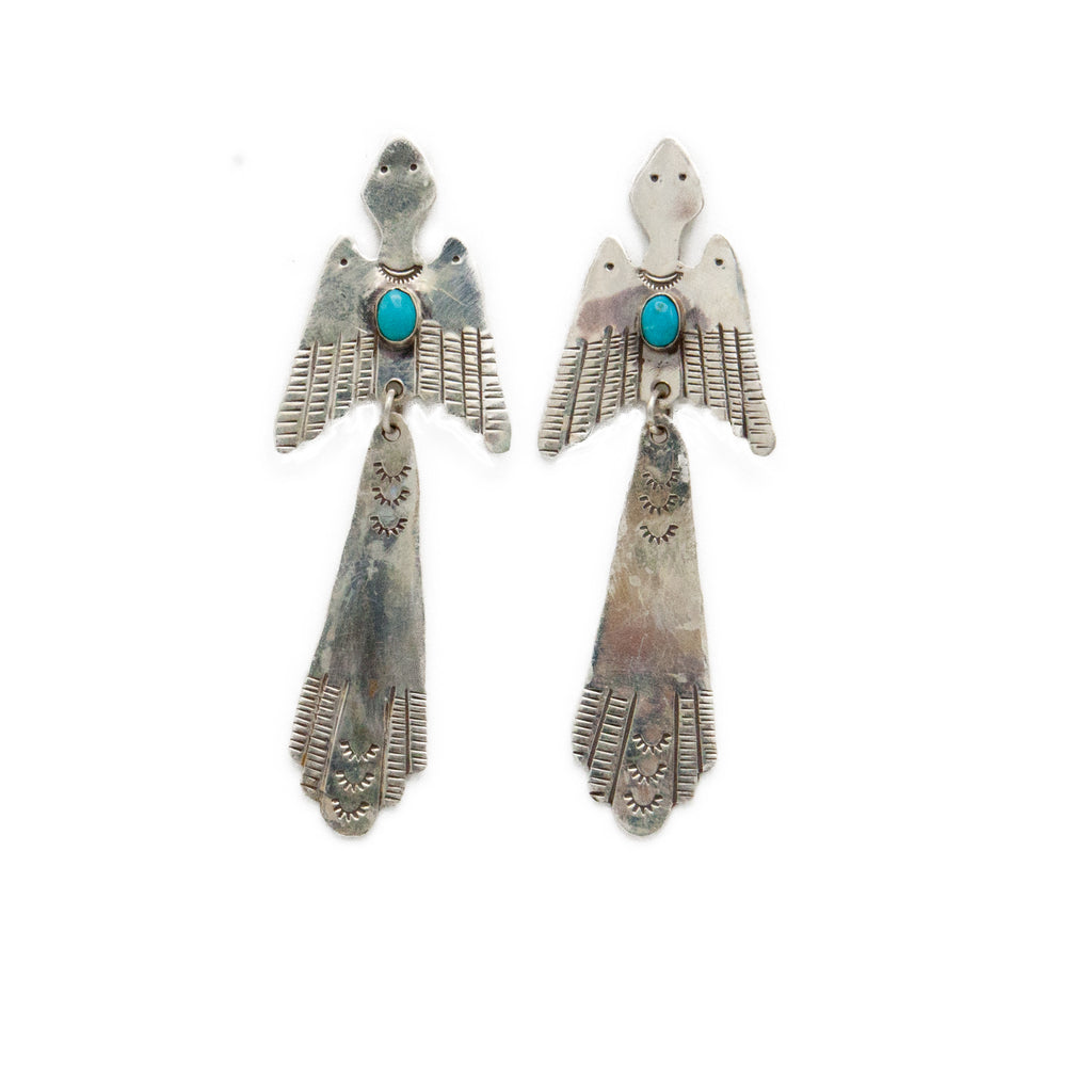 Peyote Bird Earrings - Bow&Arrow