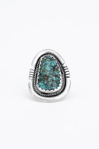Shielded Turquoise Ring