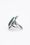 Shielded Turquoise Ring - Bow&Arrow