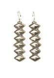 Diamond Shaped Stacked Dangles - Bow&Arrow