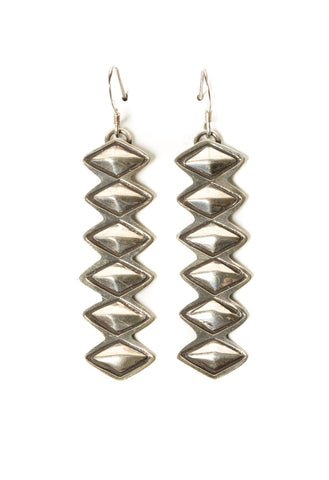 Diamond Shaped Stacked Dangles