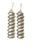 Oval Shaped Stacked Dangles