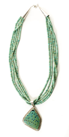 Beaded Strands Necklace