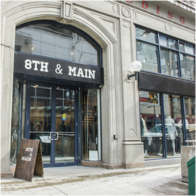 STOCKIST FEATURE: 8TH & MAIN