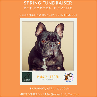 NO HUNGRY PETS PROJECT FUNDRAISER