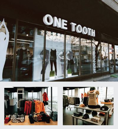 STOCKIST FEATURE: ONE TOOTH