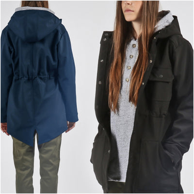 PRODUCT FEATURE: WATERPROOF FISHTAIL PARKA