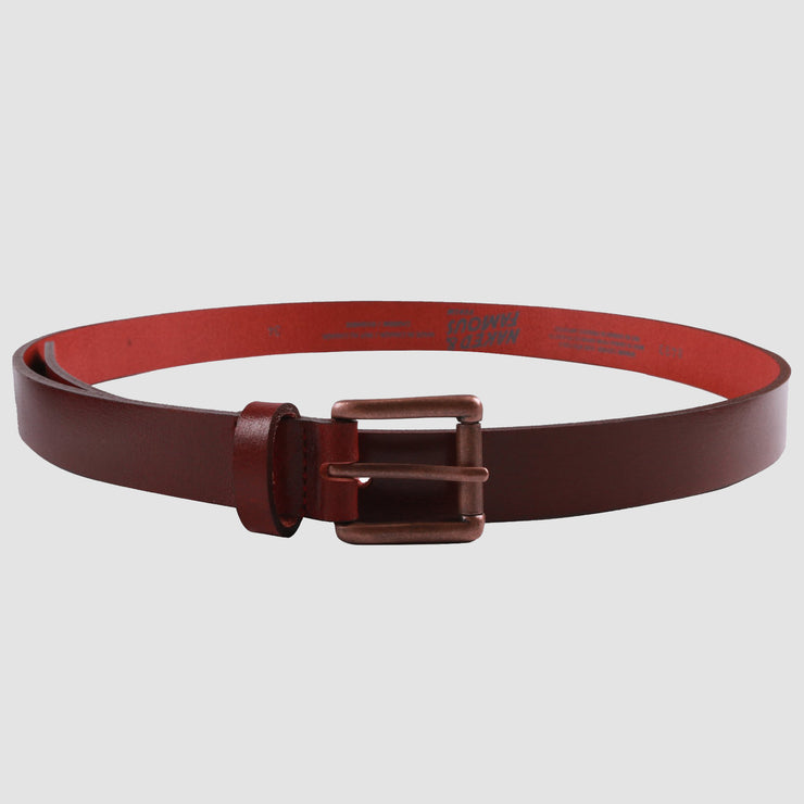 Buffalo Belt - Deep Red