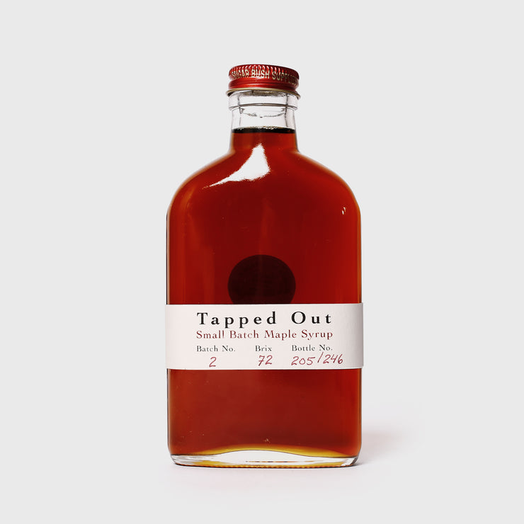 Tapped Out Small Batch Maple Syrup - Batch 2