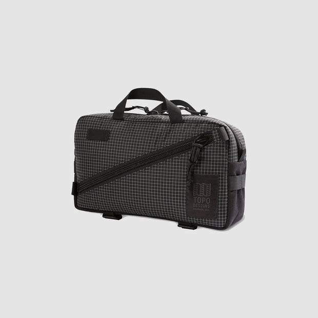 Topo Quick Pack - Black/White Ripstop