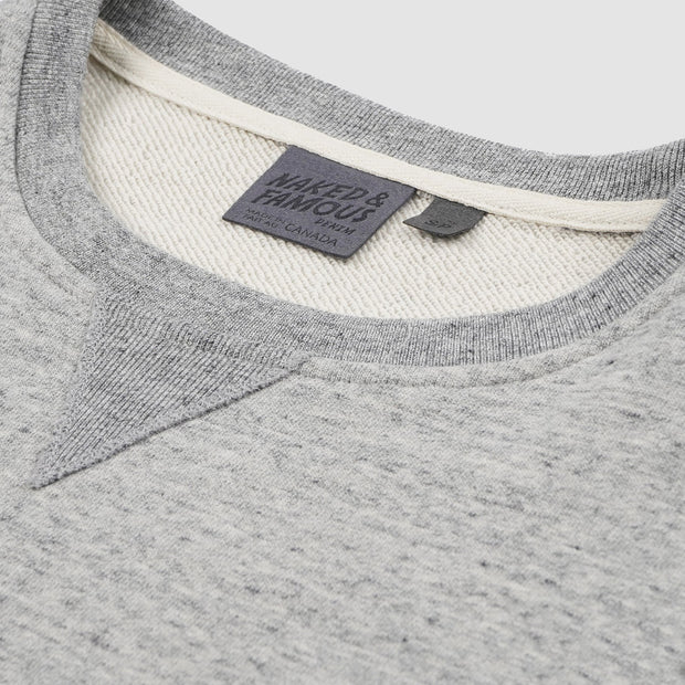 Women's Smart Crew - Grey Terry