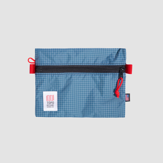 Topo Accessory Bag - Medium Blue/White Ripstop