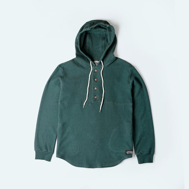 Light Weight Air Mesh Camping Hoodie - Spruce