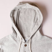 Light Weight Air Mesh Camping Hoodie - Heather Grey