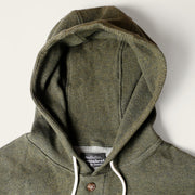 Light Weight Air Mesh Camping Hoodie - Heather Forest