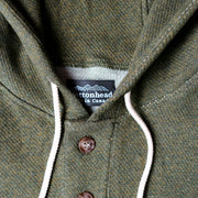 Light Weight Air Mesh Camping Hoodie - Olive