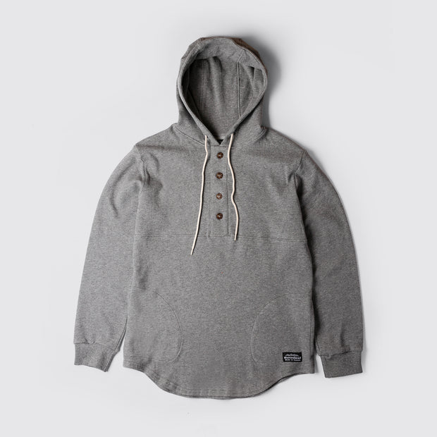 Light Weight Air Mesh Camping Hoodie - Charcoal