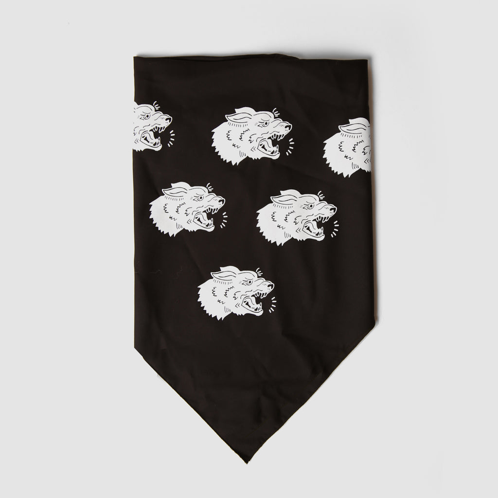 Mutts Bandana - Black