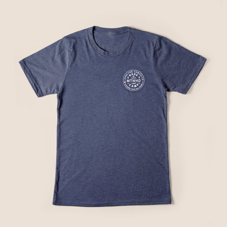 Recycled Tee - Base Camp - Heather Navy