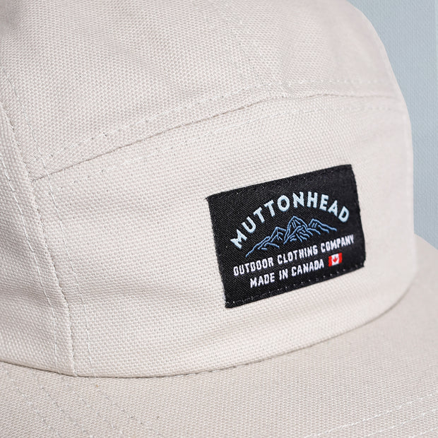 5 Panel - Mountain Patch - Natural Organic Canvas