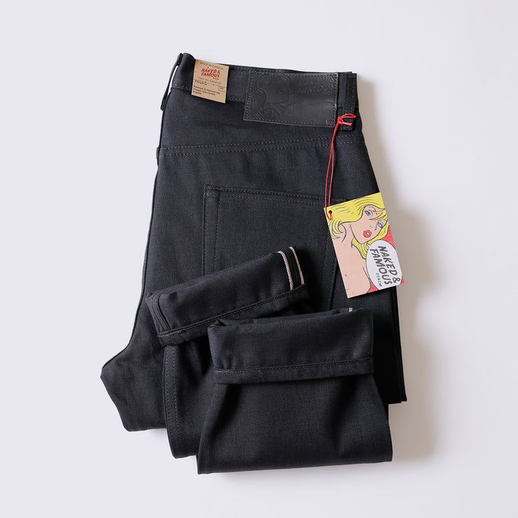 Easy Guy - Solid Black Selvedge