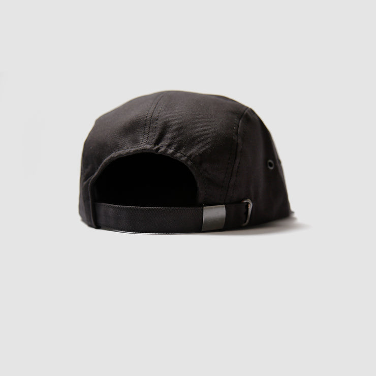5 Panel Black - Canada Patch