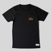 Recycled Tee - Campsite - Black