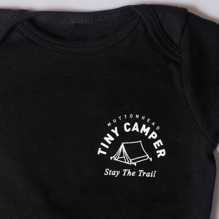 Tiny Camper Onesie - Black