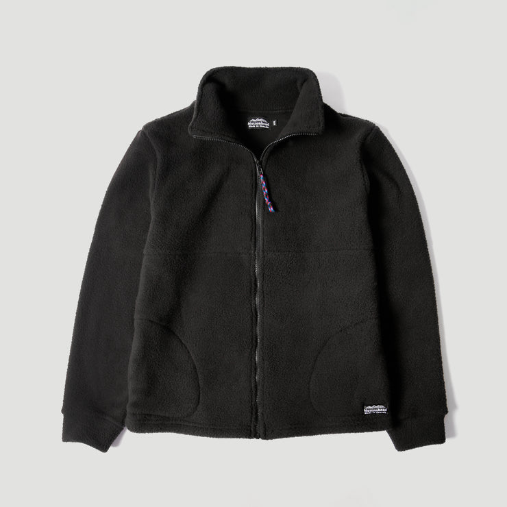 Alpine Full Zip - Black Sherpa