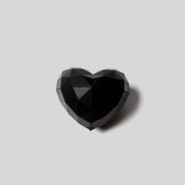 Rebels Refinery - Geometric Heart Lip Balm - Black